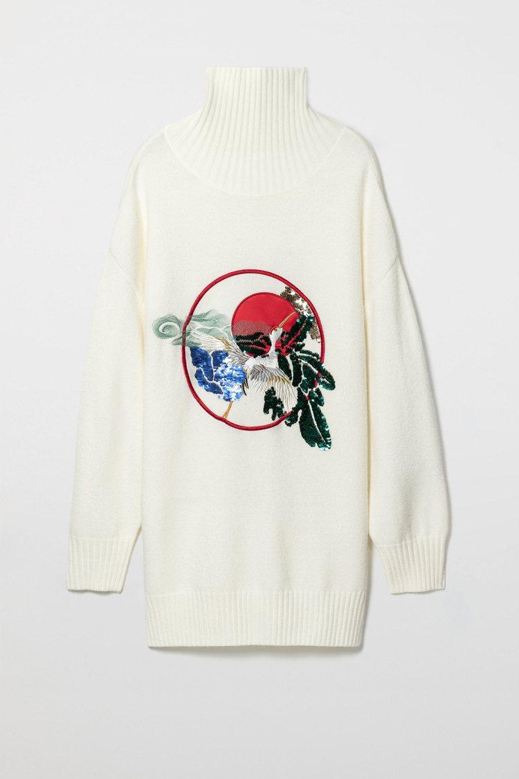 ANGEL CHEN x H&M聯名系列女裝,售價2,999元 。圖/H&M提供