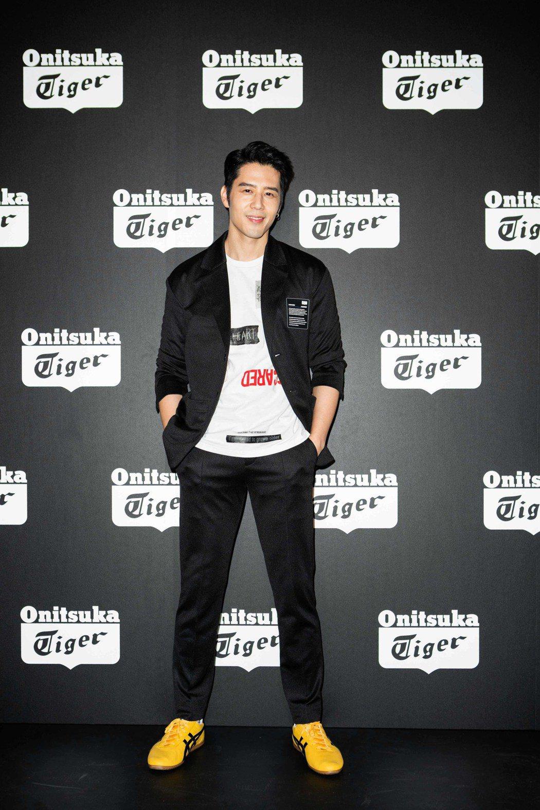 胡宇威將重返台灣拍電視劇。圖/Onitsuka Tiger ⿁鬼塚虎提供