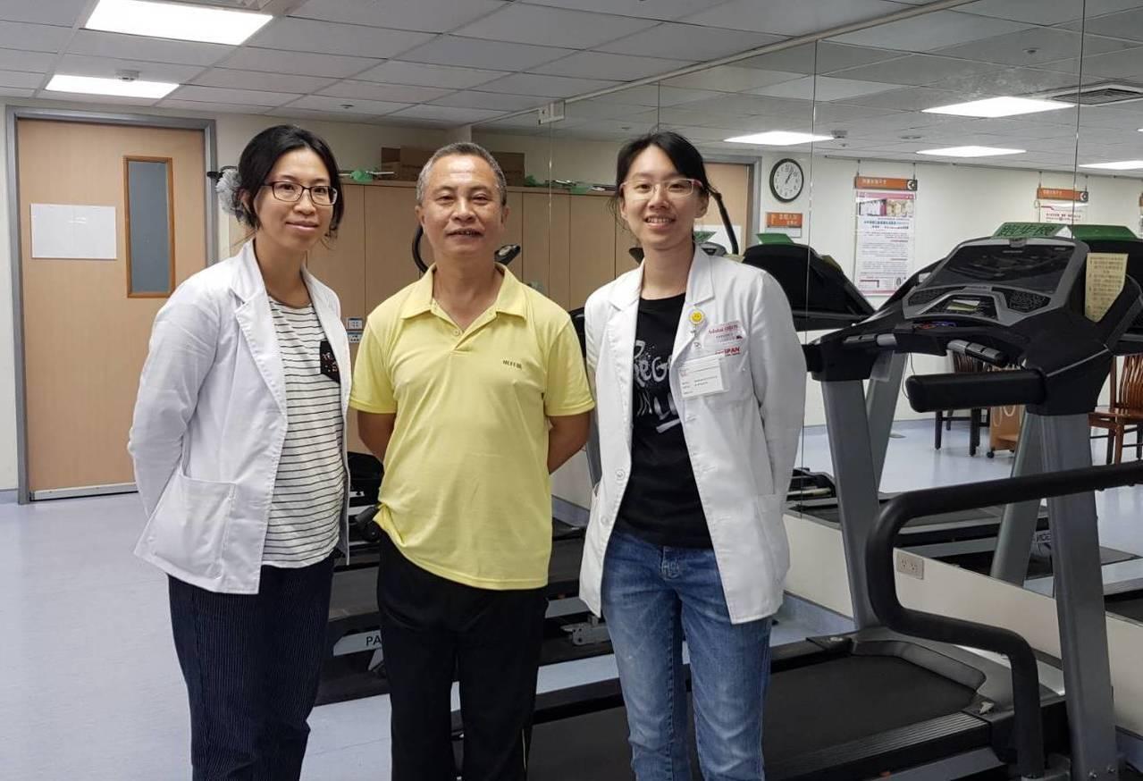 大千治療團隊透過整合性復健計畫,協助徐男重返生活。圖/大千醫院提供