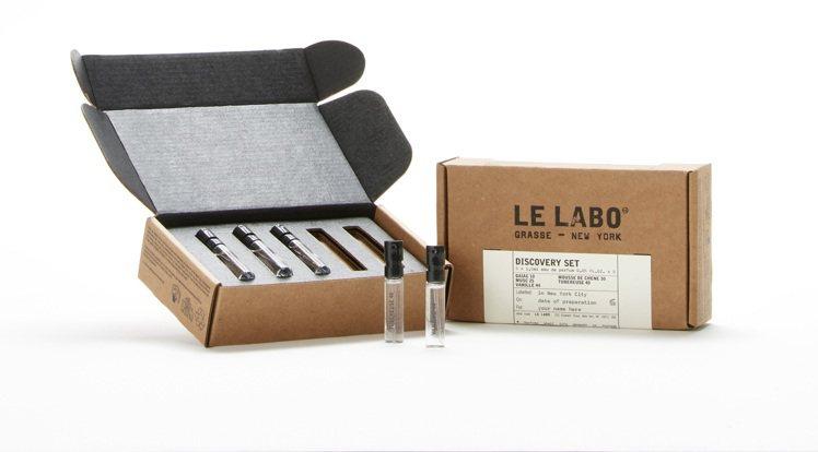LE LABO城市限定系列體驗組,1.5ml X 5售價2,000元。圖/10/...