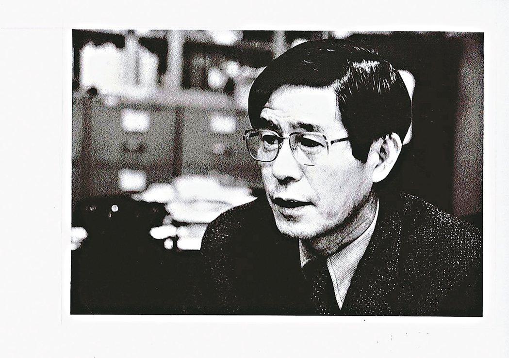洪祖培教授攝於1980年。 圖/台大醫院提供