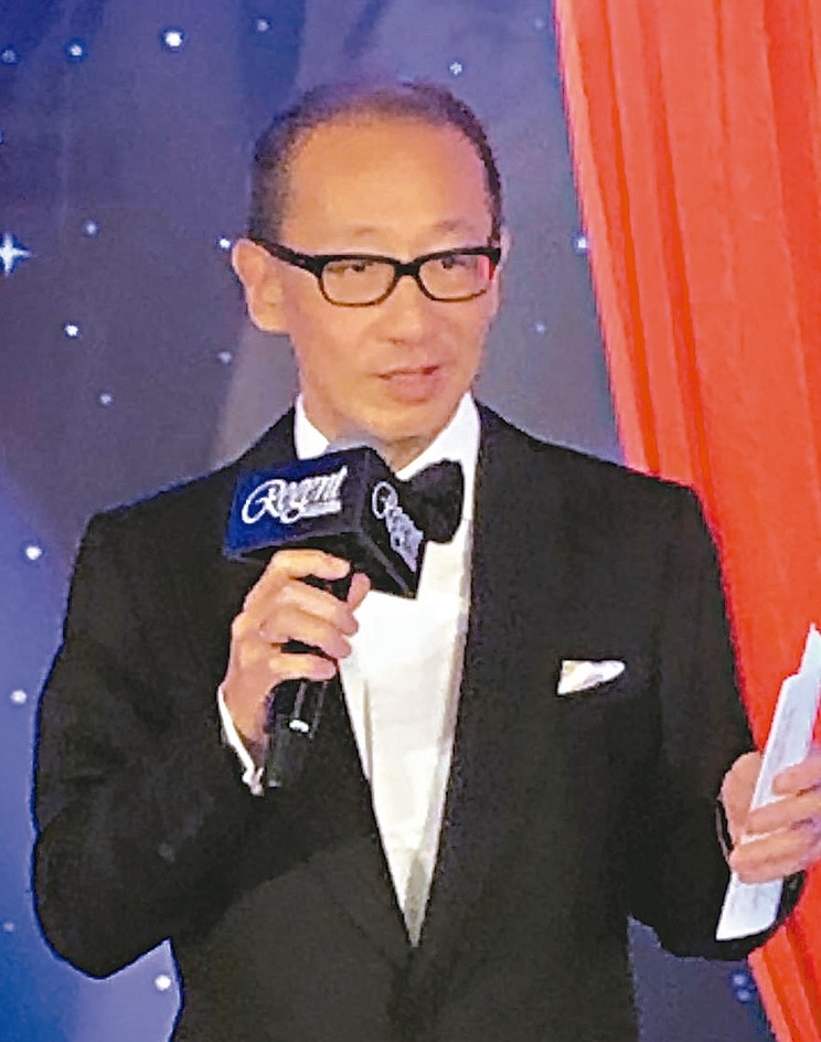 晶華酒店董事長潘思亮昨日表示,台灣未來的30年,將迎來黃金盛世。 記者黃文奇/攝...