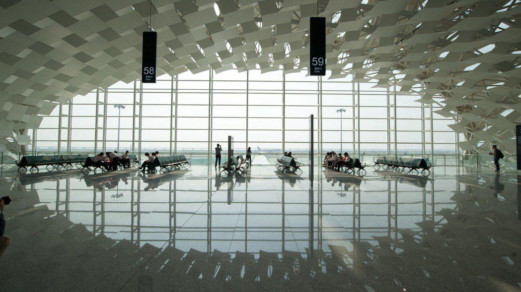 深圳機場。新華社