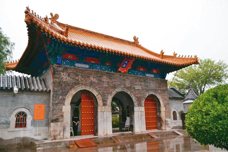 濟南府學文廟,中國四大文廟之一。 特派員王玉燕/攝影