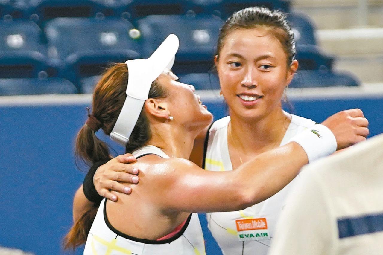詹家姊妹繼續合體參加WTA頂級賽事的泛太平洋女網賽。 聯合報系資料照 特約記者許...