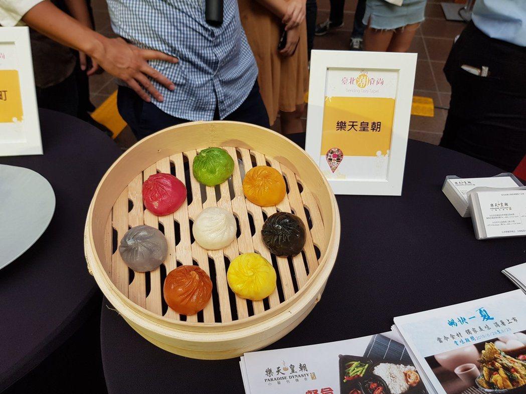 北市商業處今年以「台北潮食尚」為主題,篩選出42家台北潮食尚餐廳,今天也邀請部分...