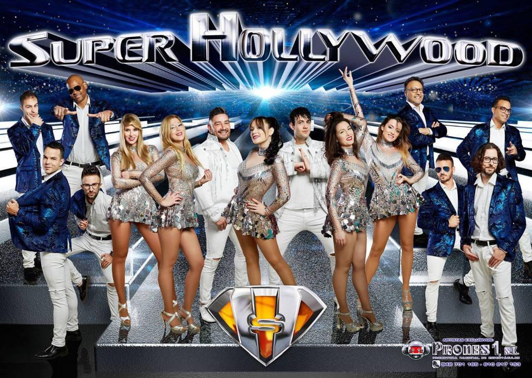 西班牙團體Super Hollywood Orchestra。圖/擷自臉書