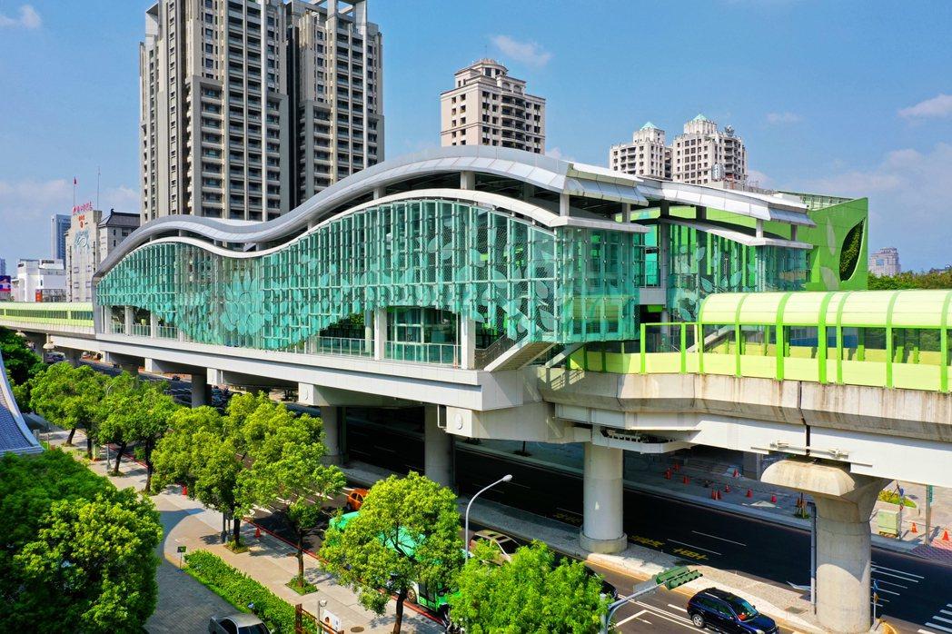 文心愛悅與捷運G12豐樂公園站為鄰,交通優勢十足。 圖/興富發建設 提供