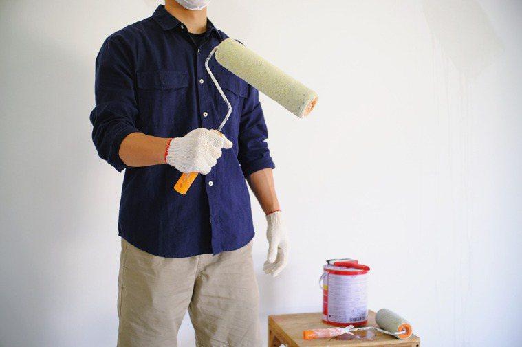 有些油漆含甲醛,影響人體健康。圖/ingimage