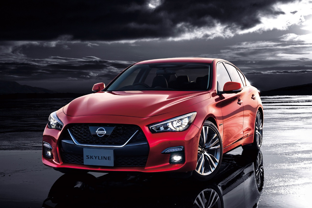 小改款Nissan Skyline熱銷 接單量超越預期9倍之多!