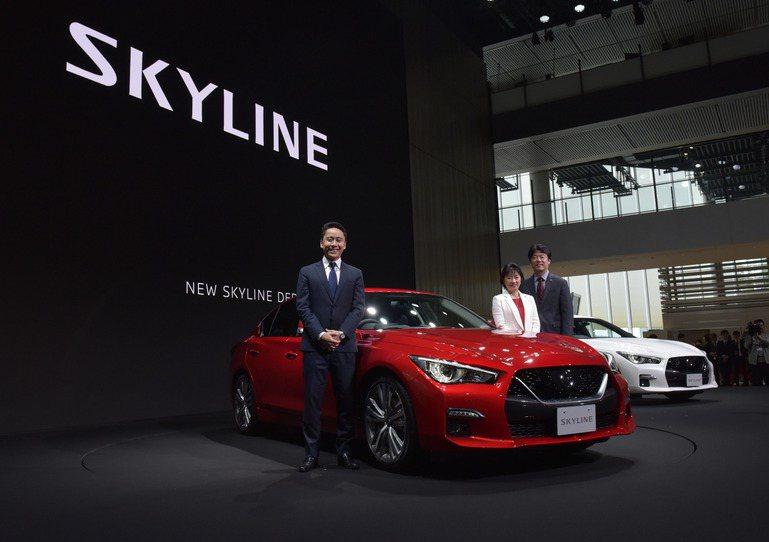 日產原廠對小改後的Skyline非常滿意。 摘自Nissan