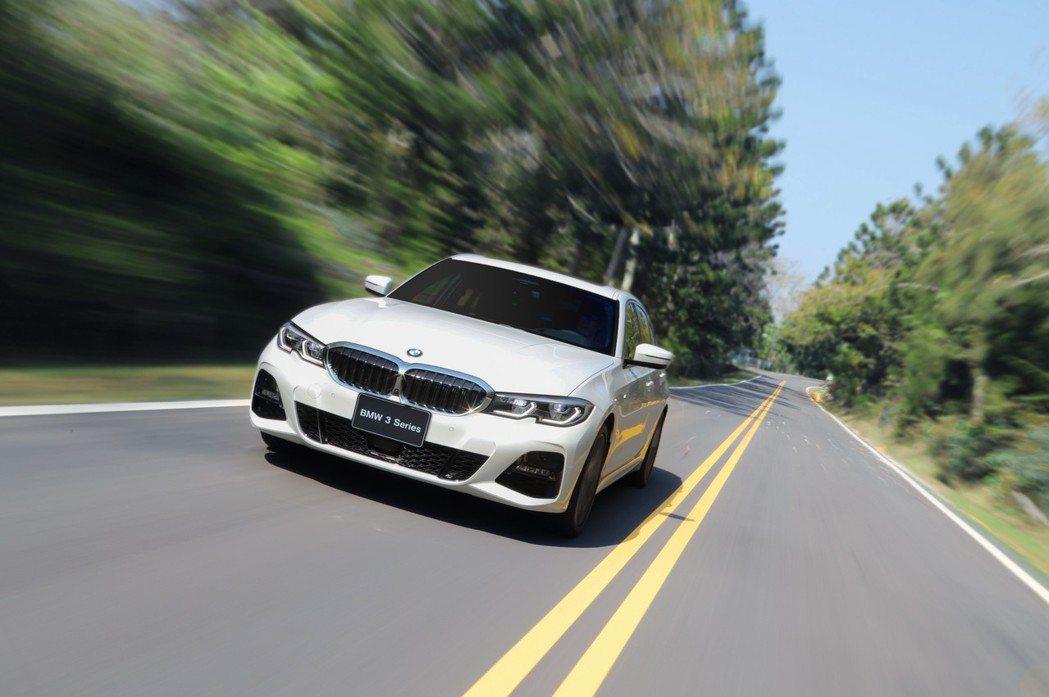 全新BMW 320i M Sport正式抵台。 圖/汎德提供