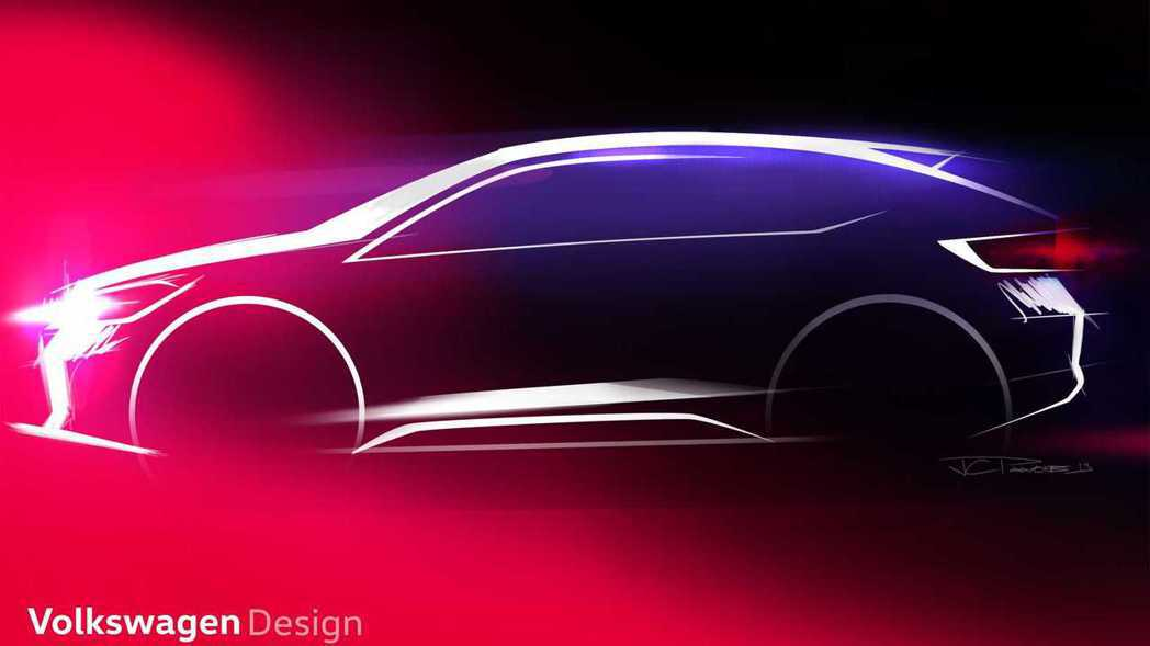 Volkswagen全新車款僅被原廠稱呼為「Urban Coupe」,並未說明這...