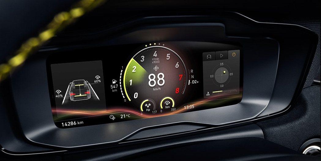 領克03+儀錶板內亦能換駕駛模式。 摘自領克汽車