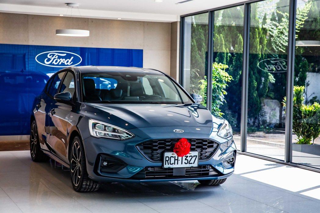全新第四代Ford Focus銷量截至八月較去年同期逆勢成長超過124%,於中型...