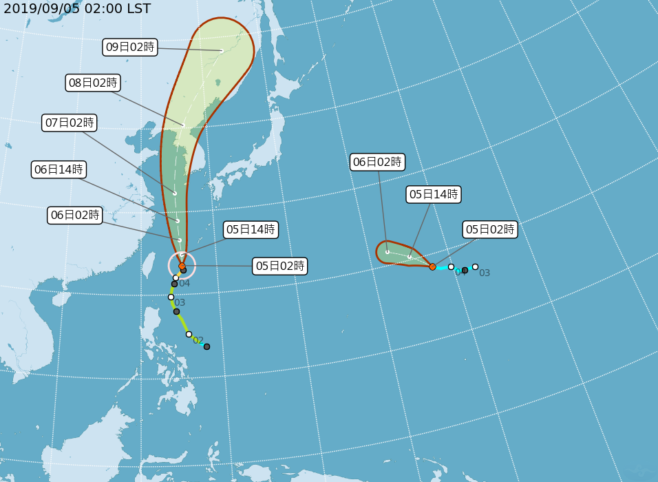 第13號颱風玲玲過去移動速度偏慢,未來將逐漸加速通過臺灣東方外海,之後朝韓國方向...