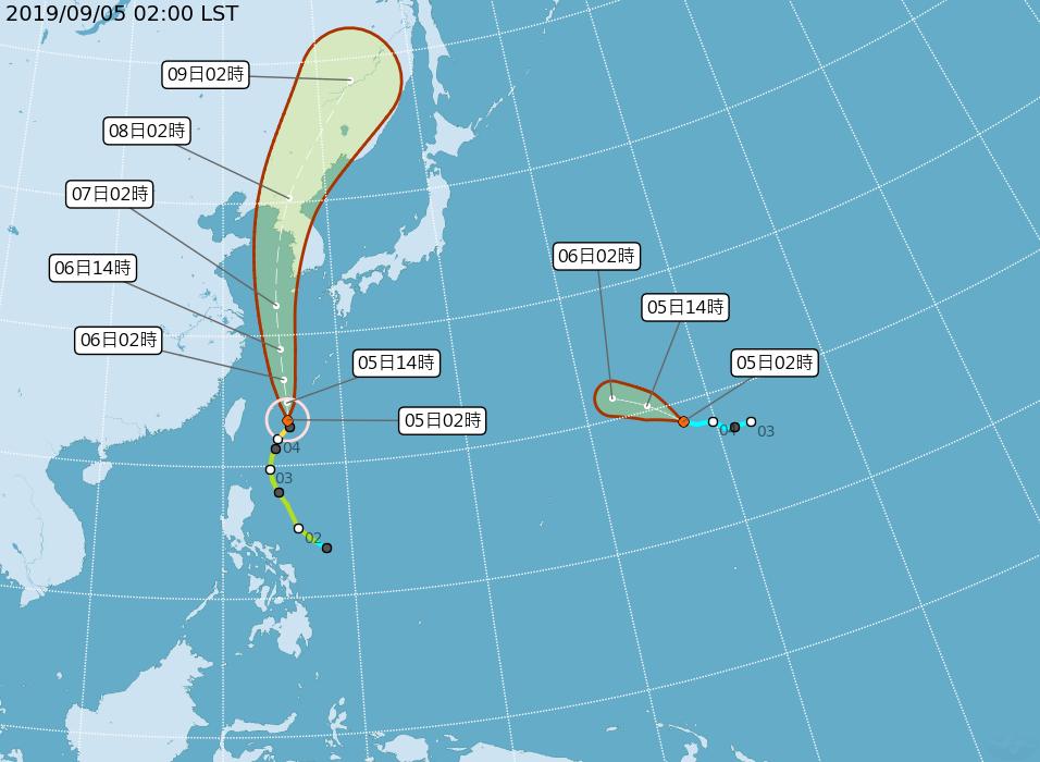受到玲玲颱風外圍環流影響,北部地區今天早上降下明顯雨勢。另外,今天15號颱風「法...