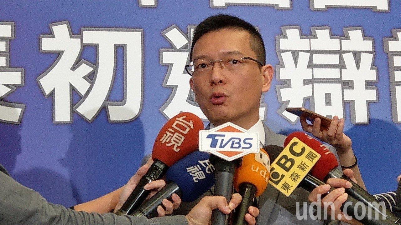 韓國瑜北部競選辦公室副執行長孫大千。本報資料照片