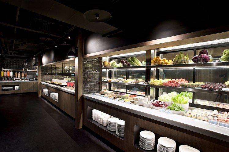 Just Café 捷食驛提供豐盛自助式早餐。圖/晶華酒店集團提供