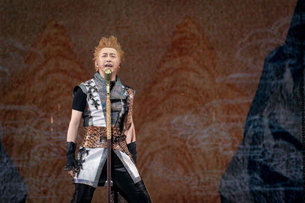哈林飾演「孫悟空」,用音樂普渡眾生。圖/耳東劇團提供