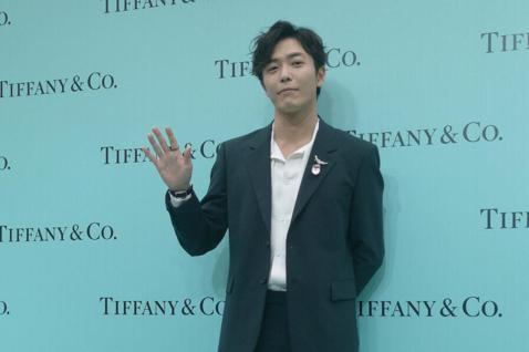 南韓藝人金材昱來台出席TIFFANY 美鑽傳奇主題展,吸引了許多粉絲前來追星。
