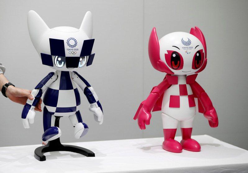 2020年東京奧運吉祥物。路透