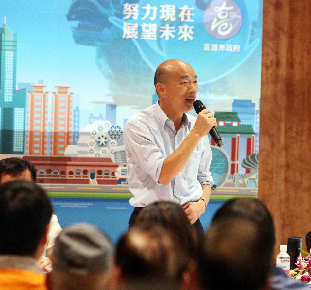 高雄市長韓國瑜的基層請益開講列車,今天開到林園區,林園地方人士請市政府力爭並加緊...