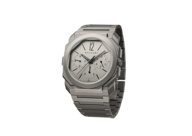 BVLGARI OCTO FINISSIMO 超薄計時 GMT 自動上鍊腕表,售...