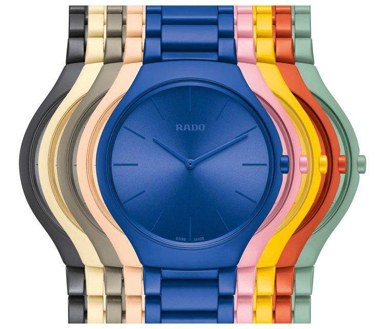 RADO Le Corbusier超薄彩色高科技陶瓷限量腕表,售價61,900元...