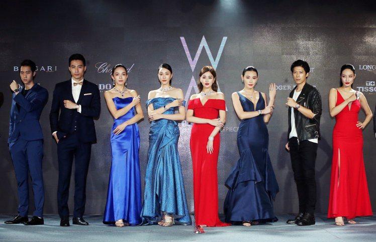 台北101周年慶同時舉辦「World Masterpiece」年度珠寶腕表展,聚...