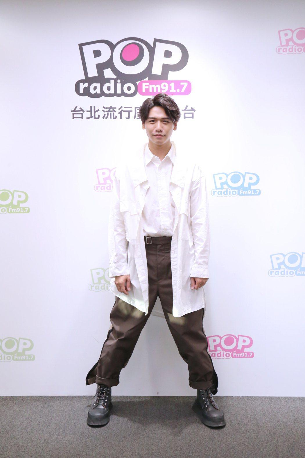 蔡旻佑三年打磨「變心記」, 相中奪金曲獎最佳年度專輯。圖/POP Radio提供