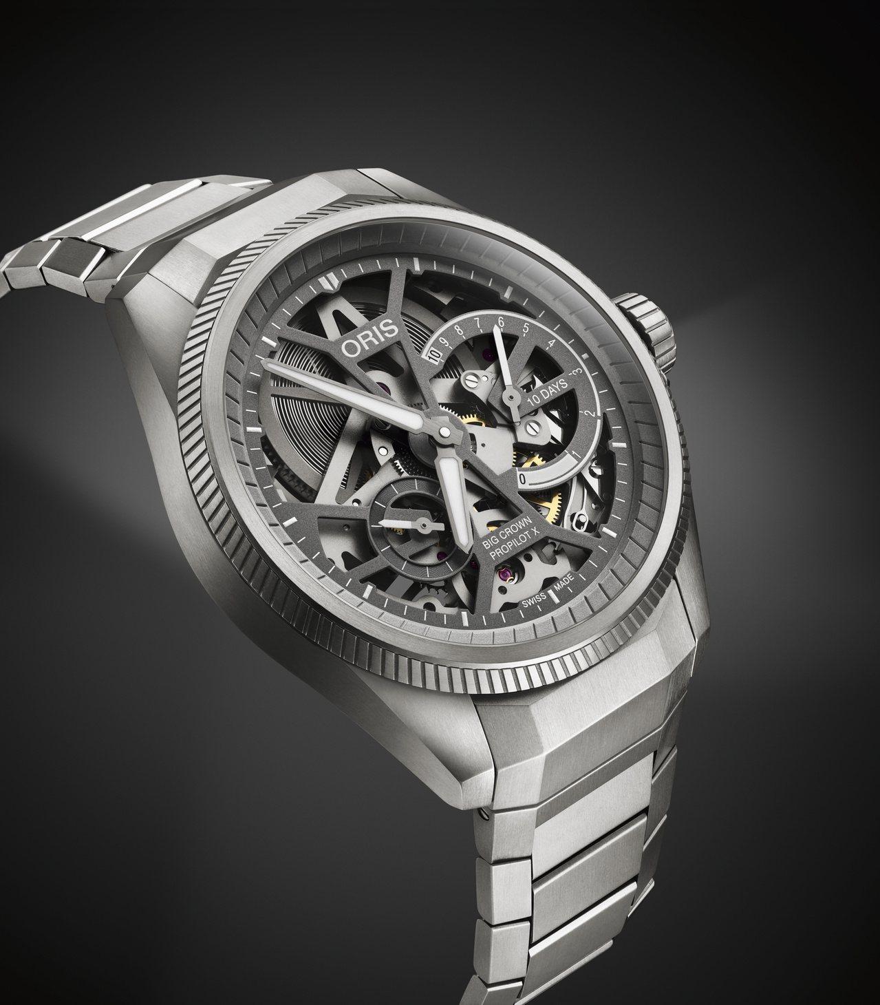 ORIS全新Pro Pilot X Calibre 115腕表,鍊帶款20萬8,...