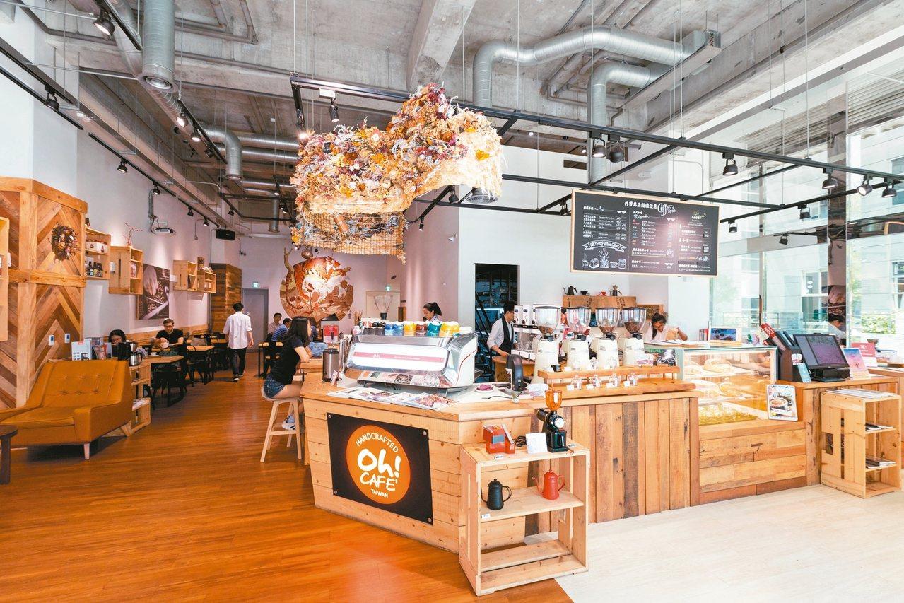 台灣有很多風格強烈的咖啡館。 圖/陳立凱