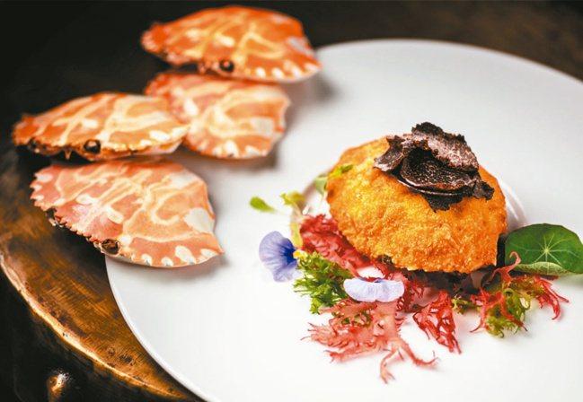 譽瓏軒粵菜廳的菜色精緻具美感。 圖/摘自譽瓏軒官網