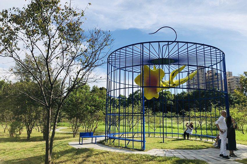 「新風景線—2019桃園地景藝術節」作品。 桃園市政府文化局/提供