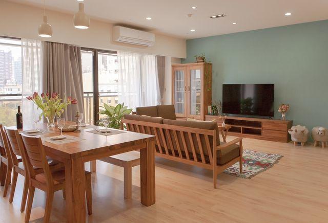 WORKS柚木以輕裝修或全裝修方式搭配家具訂製,打造夢想空間。 歐克斯柚木/提供