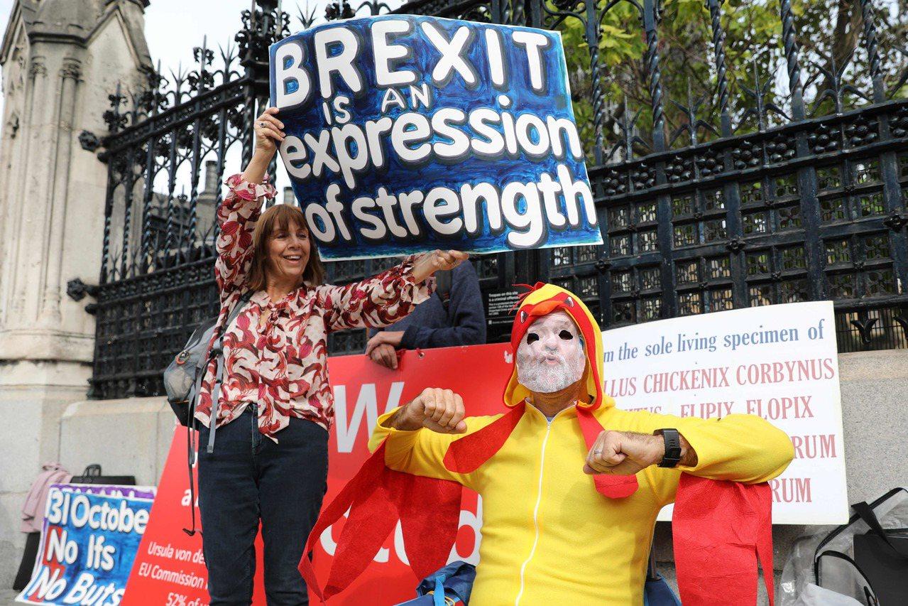 英國脫歐危機 未來幾周可能發展 法新社