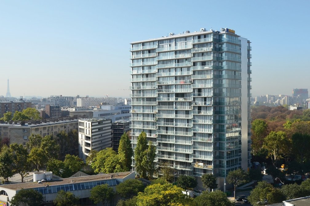 位於巴黎的社會住宅。 圖/維基共享
