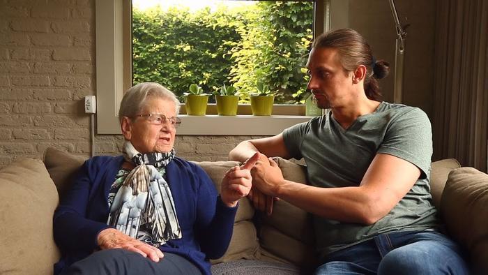 De Schutter與他的祖母
