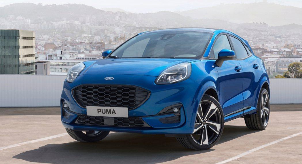 今年六月底率先亮相的Ford Puma ST-Line。 摘自Ford