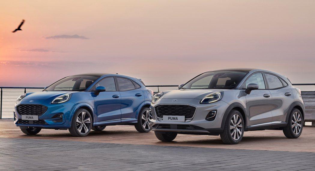 全新Ford Puma除了有ST-Line車型外,還新增了Puma Titani...