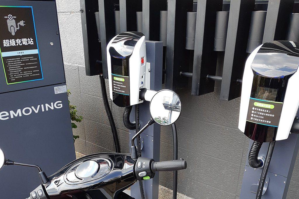 充電型電動機車,除了可以在家中進行電力補充之外,現在也多了快速充電站或超級充電站...