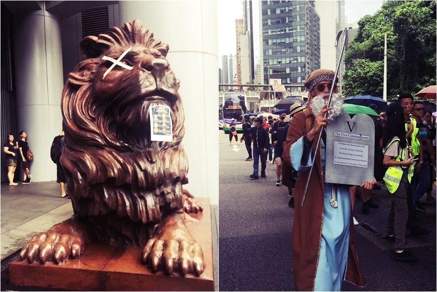 根據香港法令,宗教集會不需要事先獲得香港警方批准,因此便有了8月31日的「為香港...