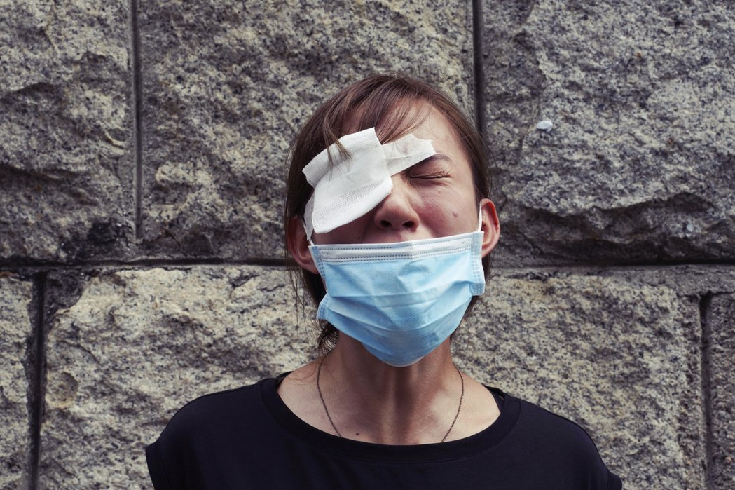 「怯,你就輸一世。」香港人已經退無可退——要戰到五大訴求全部達成為止。 圖/美聯...