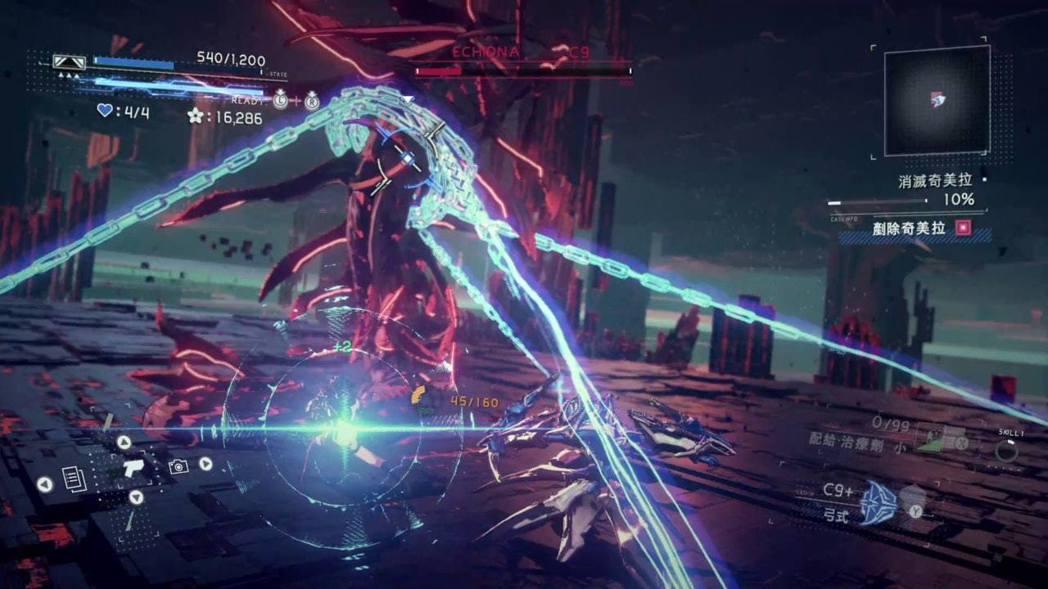閃藍光代表可同步攻擊,用指令技(搓招)可不斷出現加強攻勢
