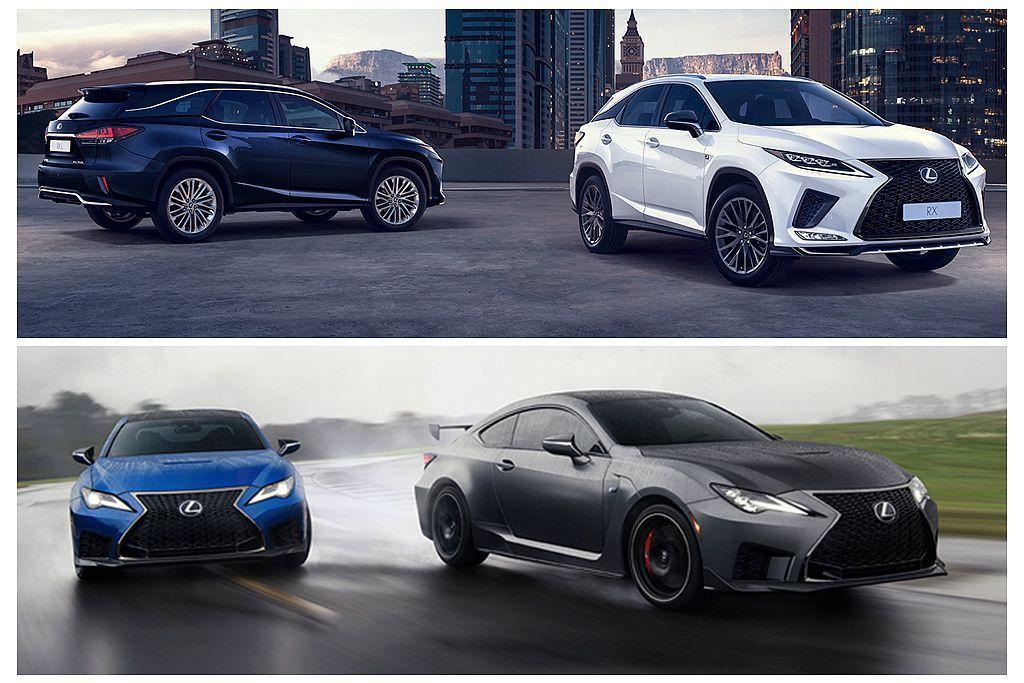 下半年起新RC F及小改款休旅車即將陸續開賣,將能吸引更多潛在買家入手Lexus...