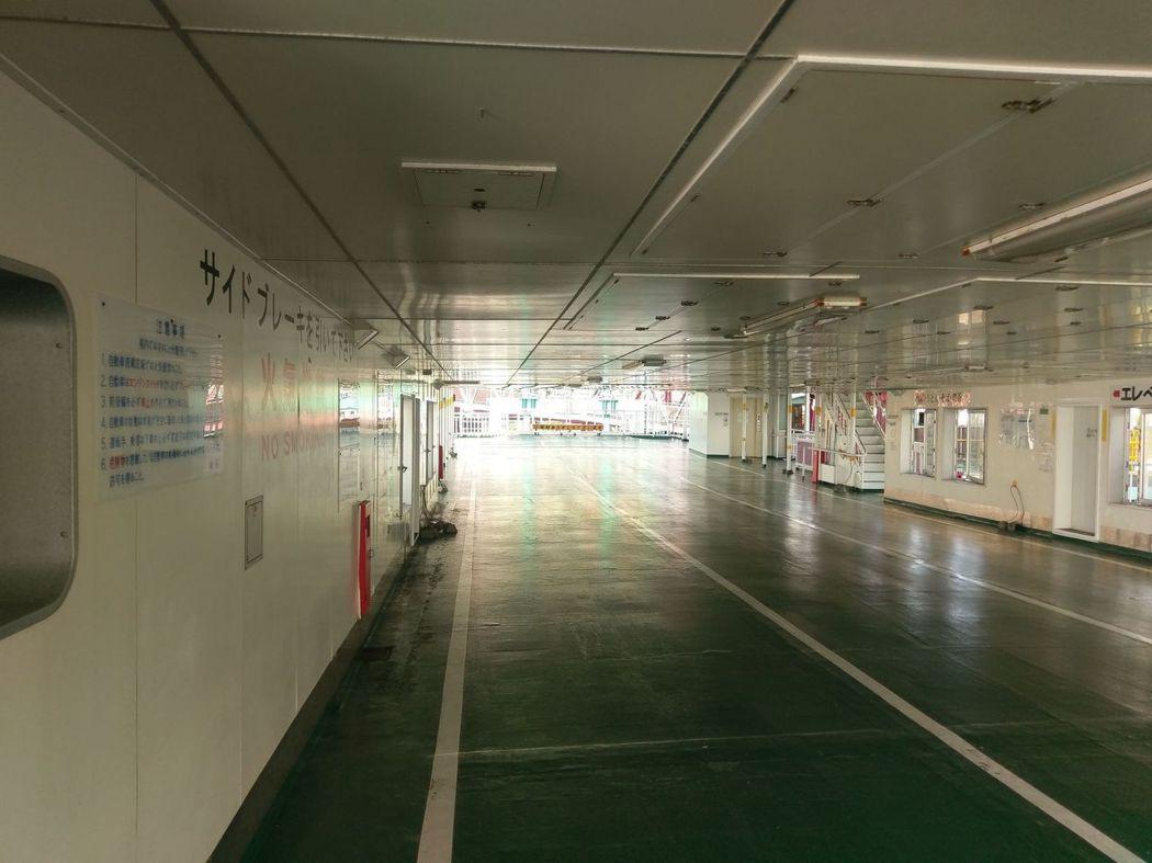 第十八櫻島丸之第二層甲板