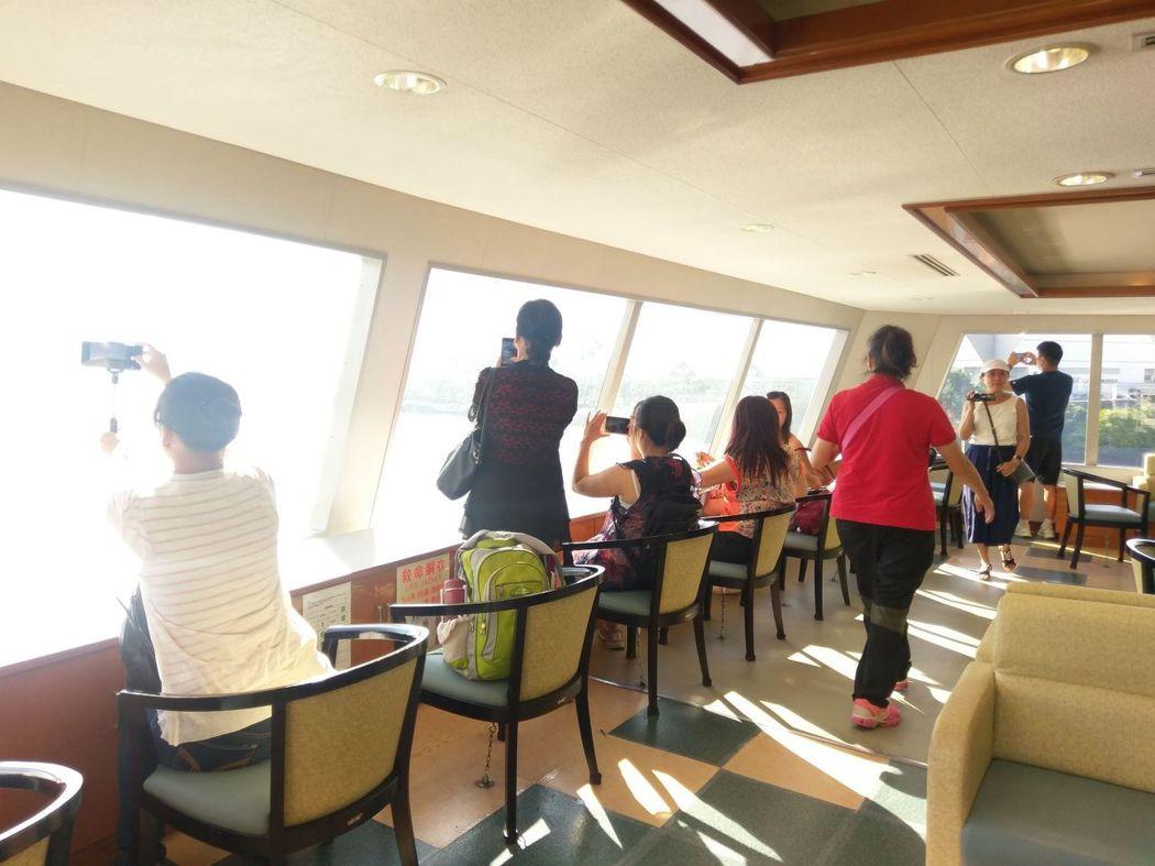 第十八櫻島丸之第三層甲板(客艙)