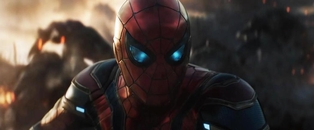 「復仇者聯盟:終局之戰」蜘蛛人。圖/摘自推特