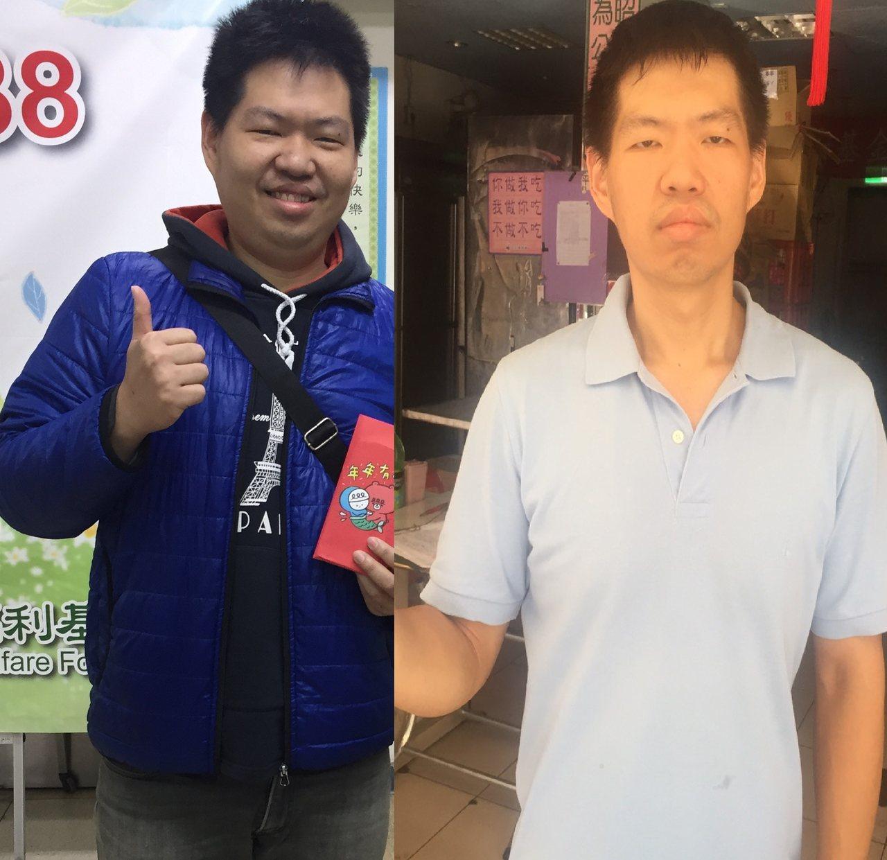人安基金會基隆平安站長周泉宥,最近瘦身有成,半年多來體重從破百公斤,減到現在的7...